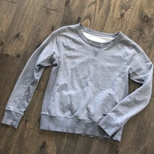The Gap Dark Grey lightweight Sweatshirt Top - S